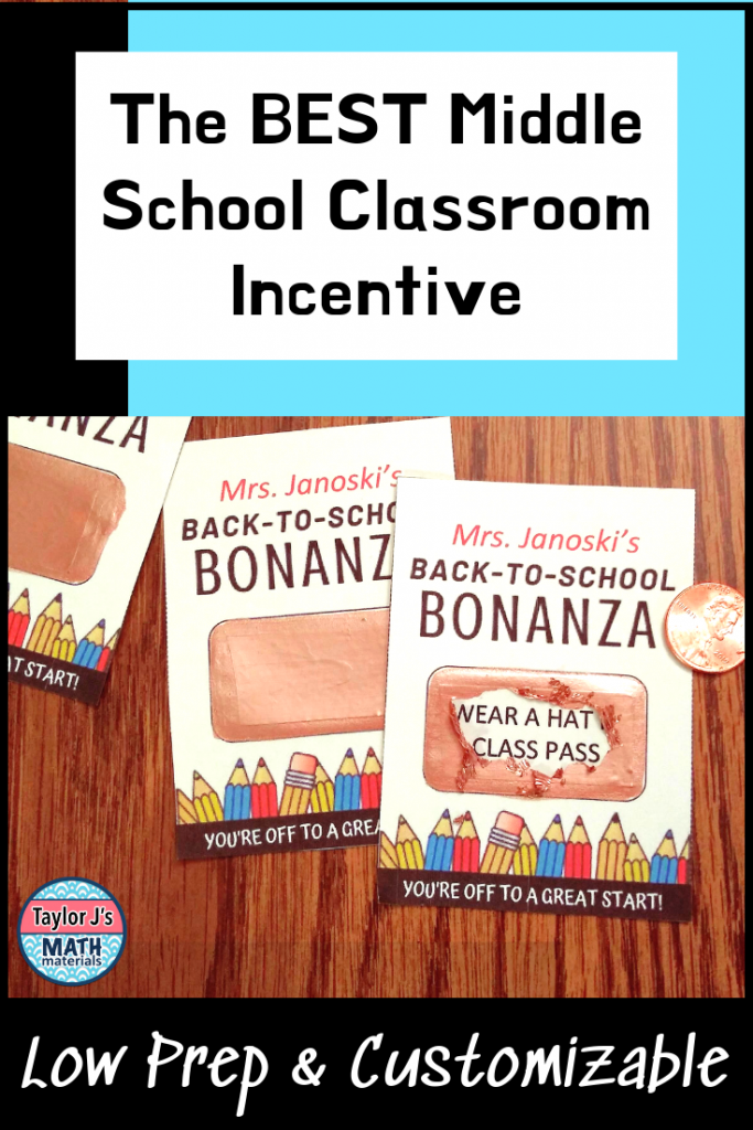 the best classroom incentive scratch offs